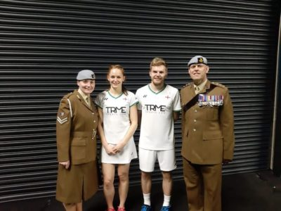 with England's Mixed Doubles Pair – Marcus Ellis and Lauren Smith who went all the way to Semi-Final during the Competition. All England Open is one of the most prestigious badminton tournaments within the badminton calendar.